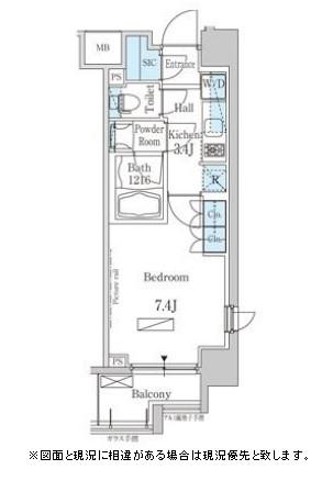 パークアクシス芝浦305号室
