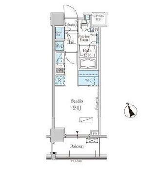 パークアクシス芝浦402号室