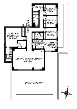 ホーマットウッドビル 504号室