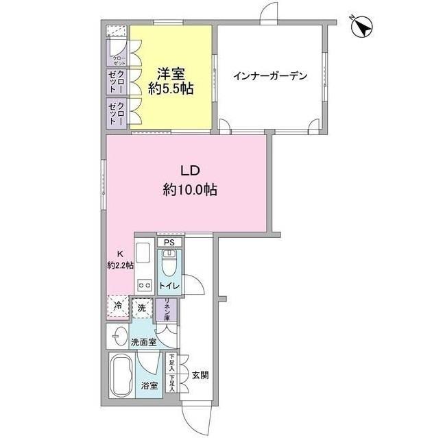 レグノ・コラージュ102号室