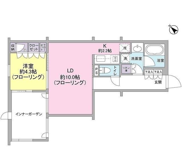 レグノ・コラージュ104号室