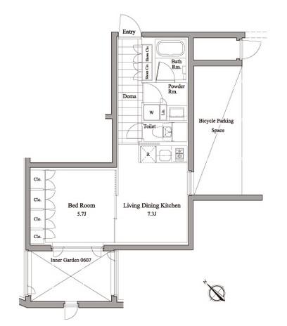 レグノ・コラージュ107号室