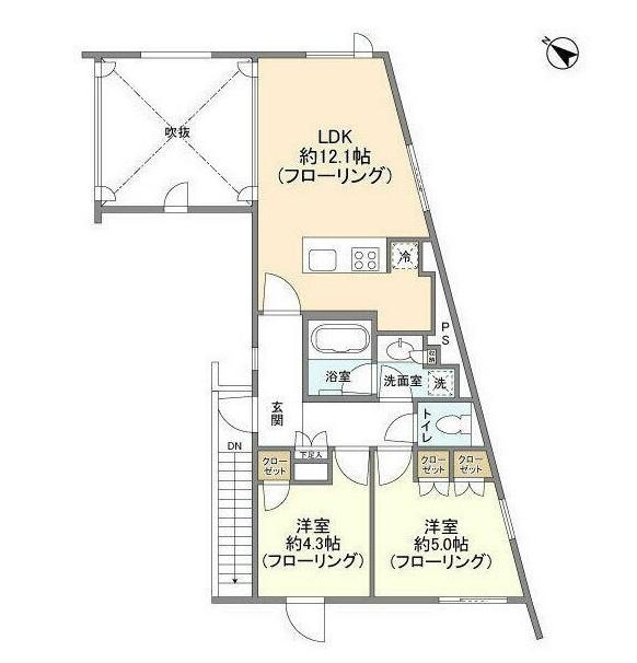 レグノ・コラージュ301号室