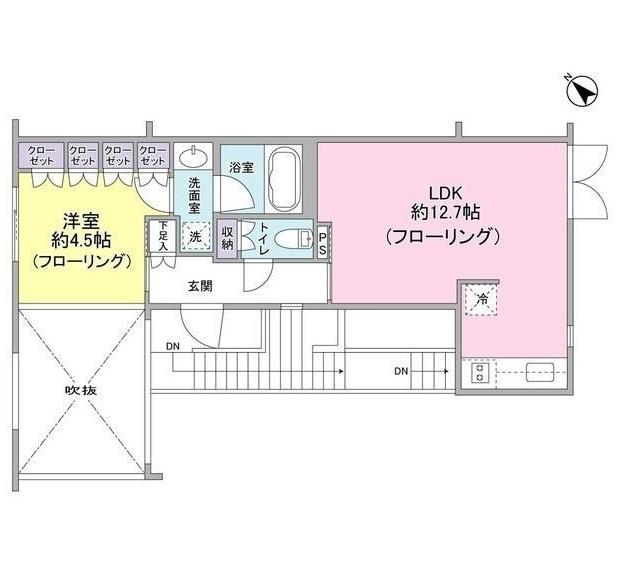 レグノ・コラージュ304号室
