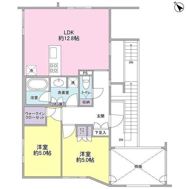 レグノ・コラージュ306号室