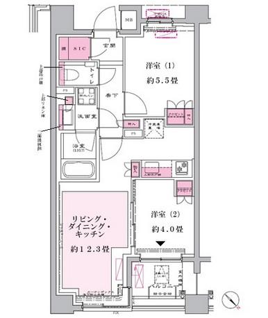 リビオ新宿御苑312号室