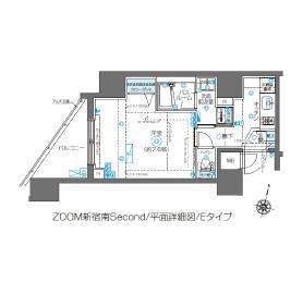 ZOOM新宿南Second1203号室