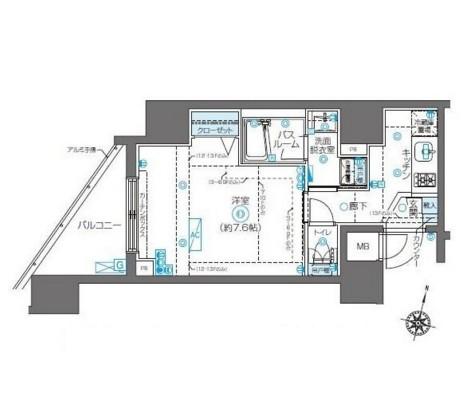 ZOOM新宿南Second1302号室