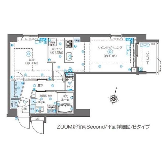 ZOOM新宿南Second302号室