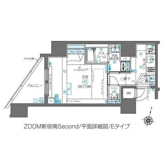 ZOOM新宿南Second503号室