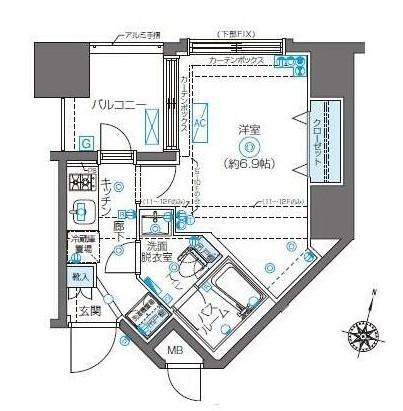 ZOOM新宿南Second701号室