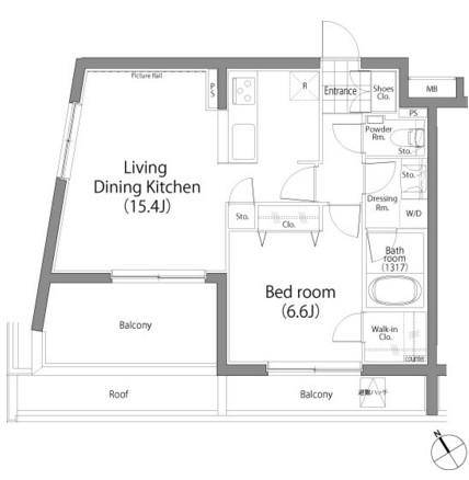 ラ・プレス神宮前403号室