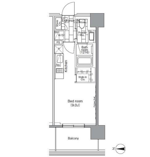パークハビオ芝浦702号室