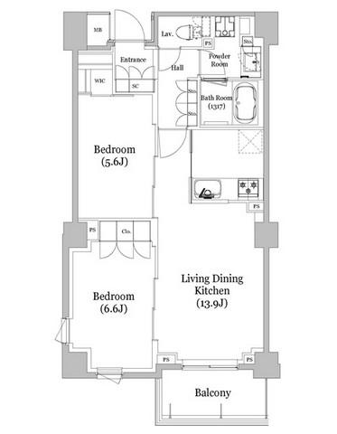 リビオメゾン西新宿203号室