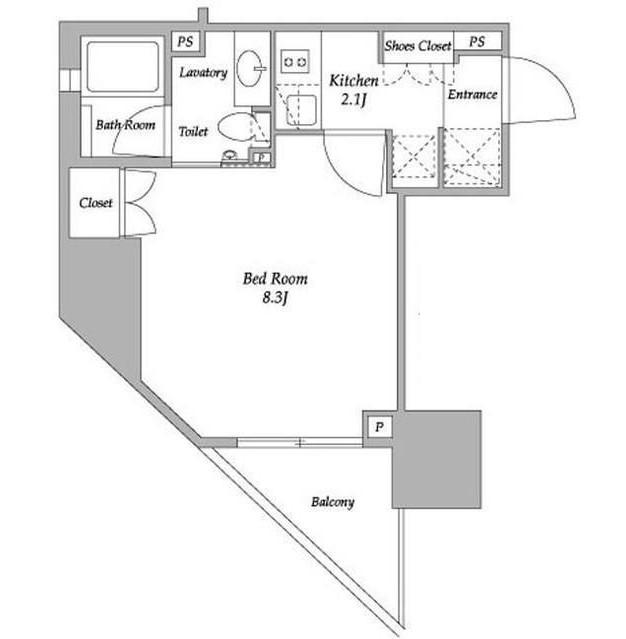 パークアビタシオン麻布十番402号室