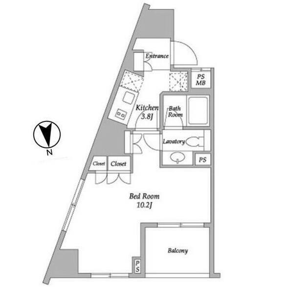 パークアビタシオン麻布十番403号室