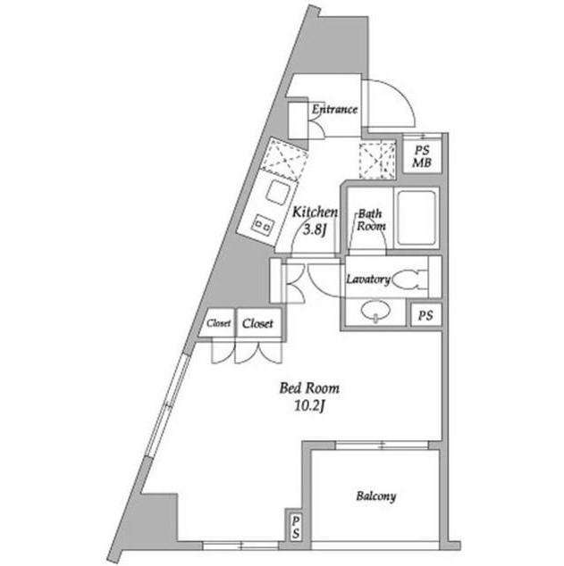 パークアビタシオン麻布十番703号室