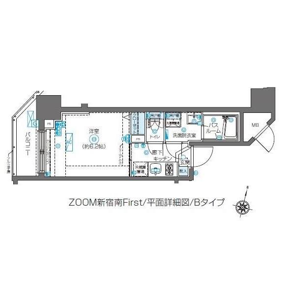 ZOOM新宿南First1002号室