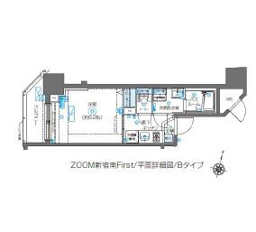 ZOOM新宿南First1302号室