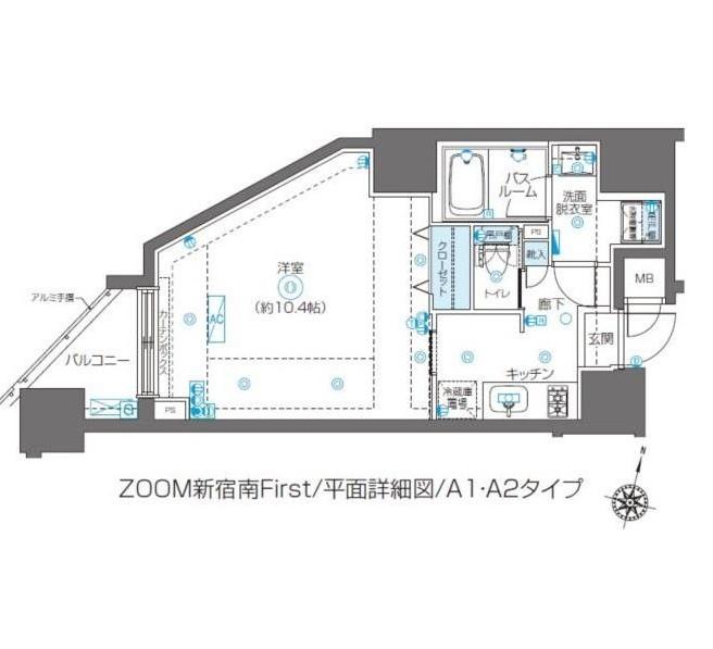 ZOOM新宿南First701号室