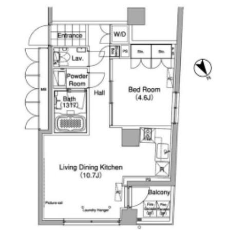 グローブプレイス六本木永坂306号室