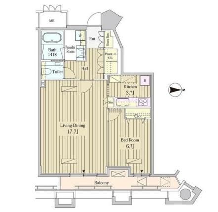MOMENTO SHIODOME1508号室
