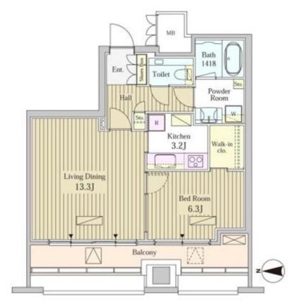 MOMENTO SHIODOME1813号室
