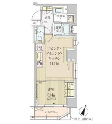 パークアクシス赤坂見附1001号室