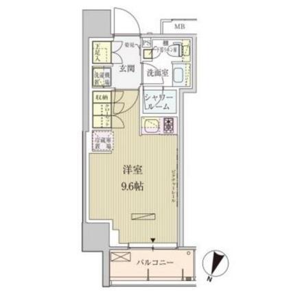 パークアクシス赤坂見附1108号室