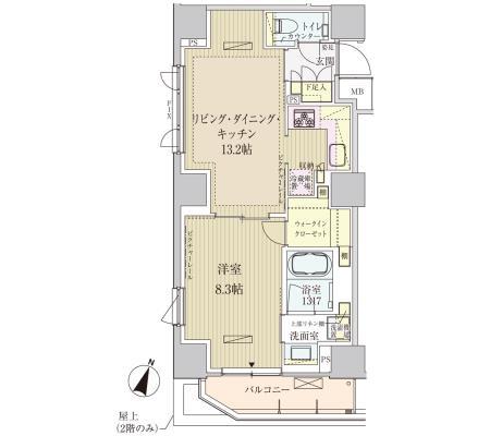 パークアクシス赤坂見附205号室