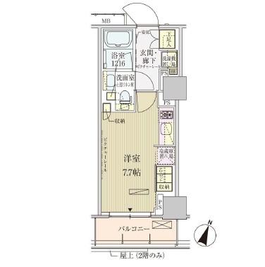 パークアクシス赤坂見附303号室
