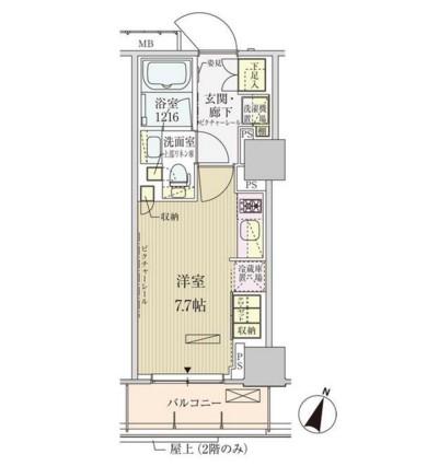 パークアクシス赤坂見附503号室