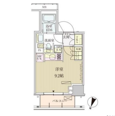 パークアクシス赤坂見附507号室