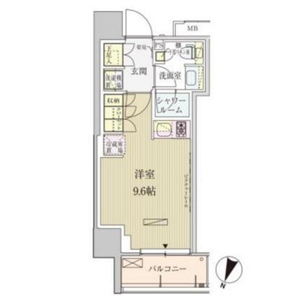 パークアクシス赤坂見附508号室