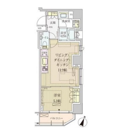 パークアクシス赤坂見附601号室