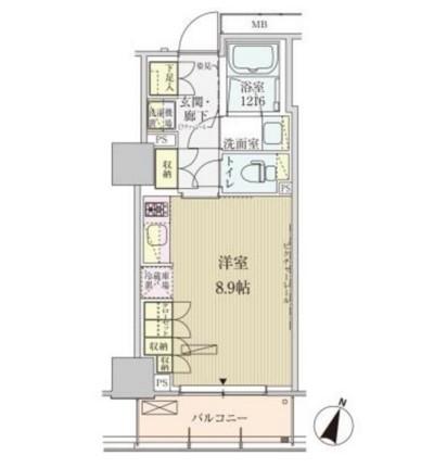 パークアクシス赤坂見附602号室