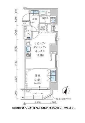 パークアクシス赤坂見附801号室