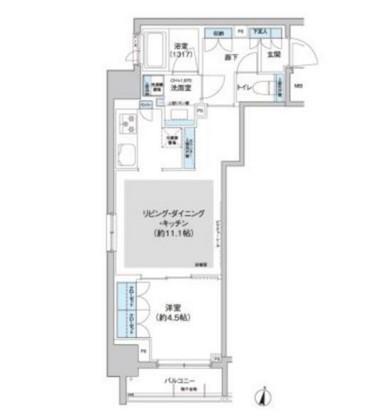 パークキューブ西新宿1004号室