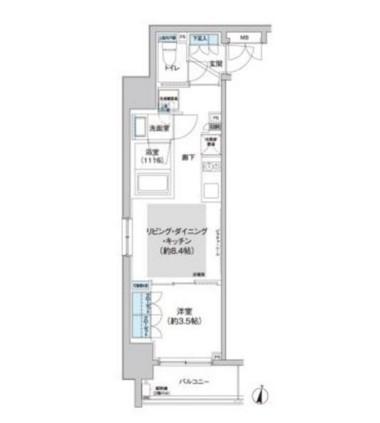 クレヴィアリグゼ西新宿305号室