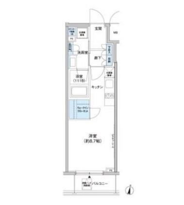 クレヴィアリグゼ西新宿404号室