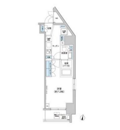 クレヴィアリグゼ西新宿601号室