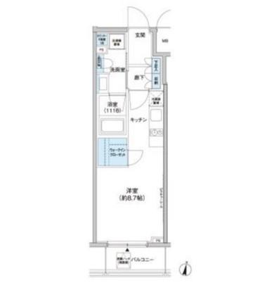 クレヴィアリグゼ西新宿604号室