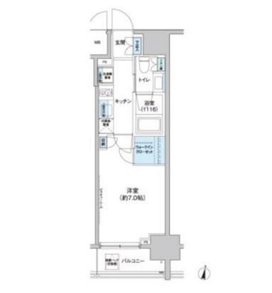クレヴィアリグゼ西新宿703号室