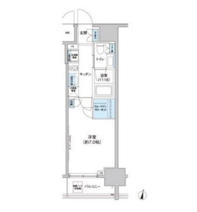 クレヴィアリグゼ西新宿903号室
