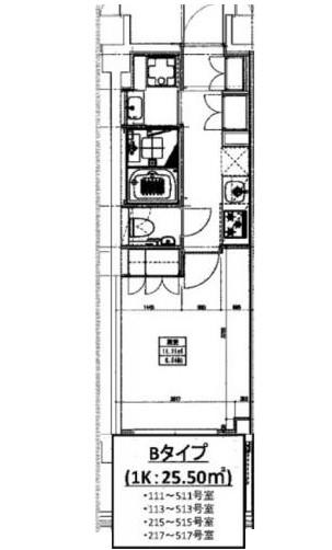 ヒューリックレジデンス新宿戸山105号室