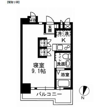 レジディア代々木Ⅱ202号室