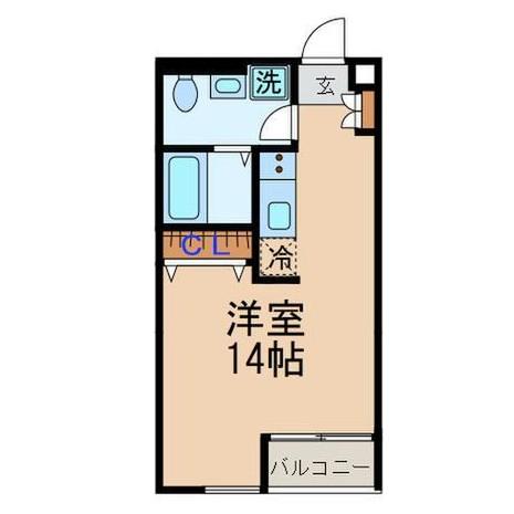 GRANDIR S KITASANDO2B号室