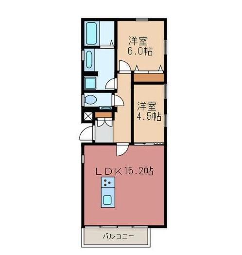 GRANDIR S KITASANDO3F号室