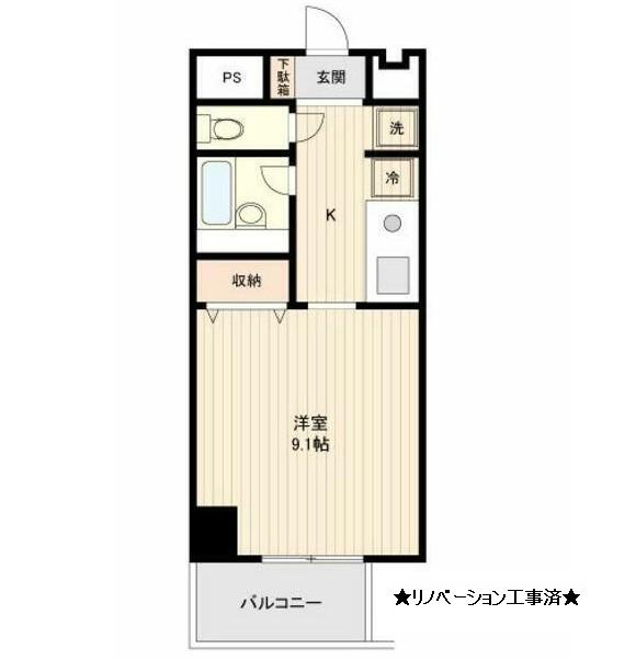 コスモリード幡ヶ谷1006号室