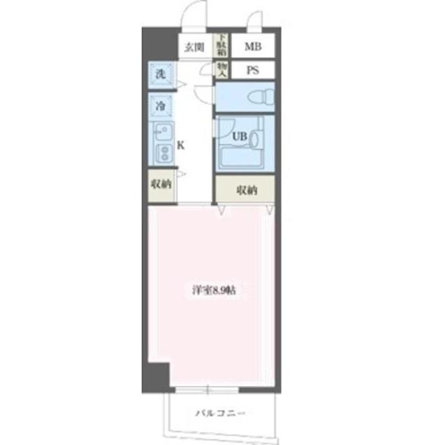 コスモリード幡ヶ谷501号室